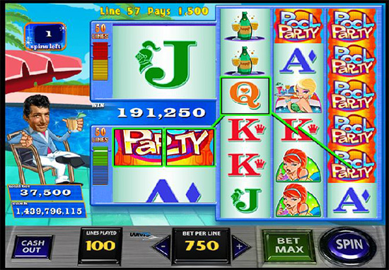 Dean Martins Pool Party Slots - Play for Free Now