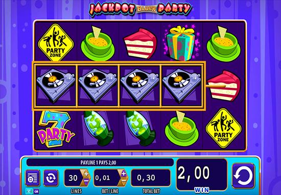 Bubble gum slot machine