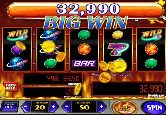 Jackpot Comet Slot - Play this Video Slot Online