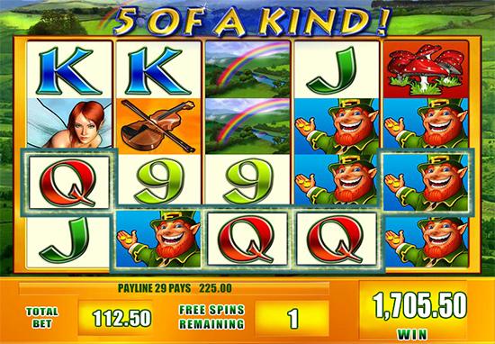 Wild leprechaun slot machine online, free
