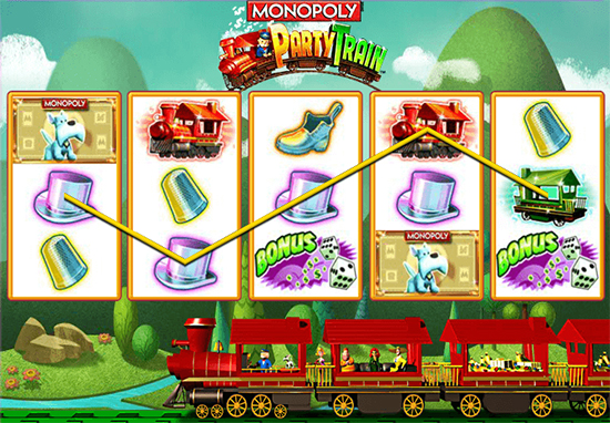 Monopoly Party Train Slots - Play Online or on Mobile Now